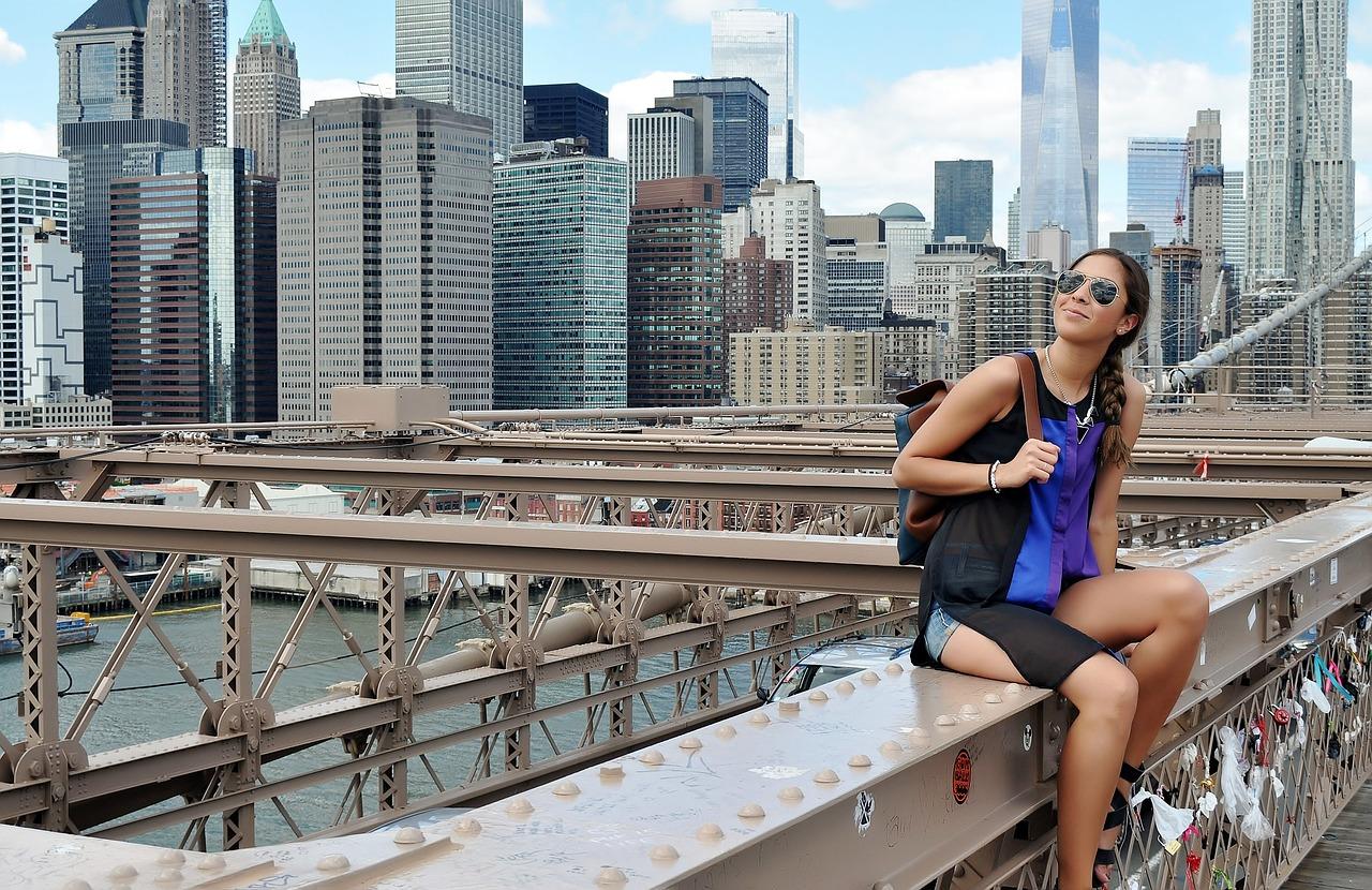 New York, Mädchen, Alleinreisende, Singlereise New York