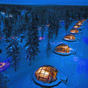 Glass Igloo Finland, Lapland (Image © Kakslauttanen Arctic Resort)