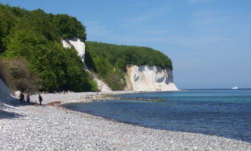 Deutschland, Rügen, Strand, Felsen, Singlereisen