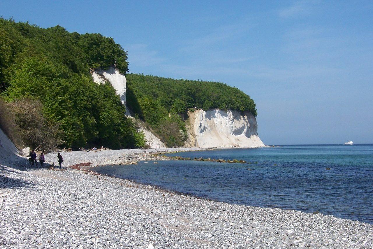 Germany, Rügen, Beach, White Cliffs