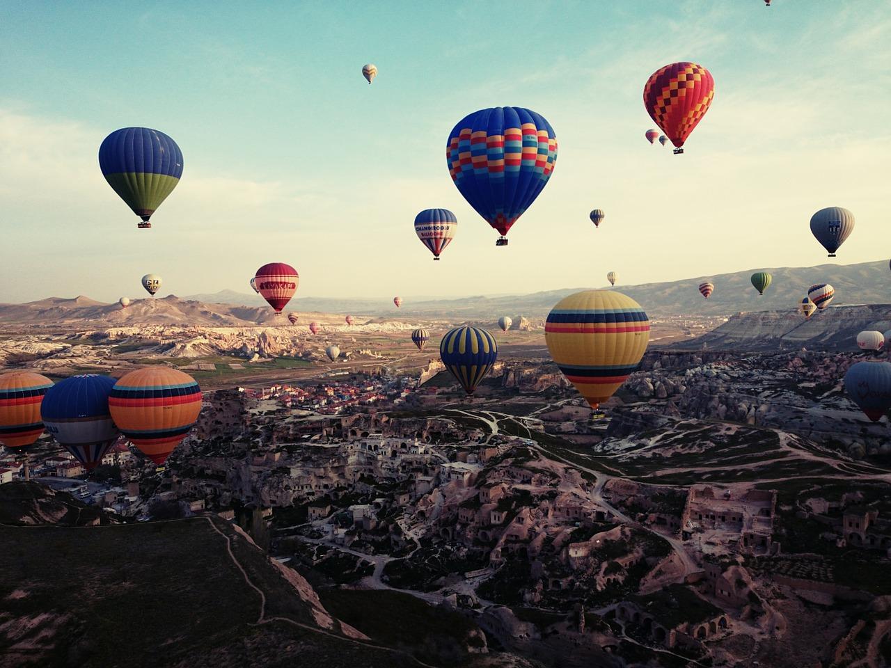 Turkey, Balloons, Singles Holidays, Solo Travel, Singles Vacations, Solo Holidays (Image: Pixabay)