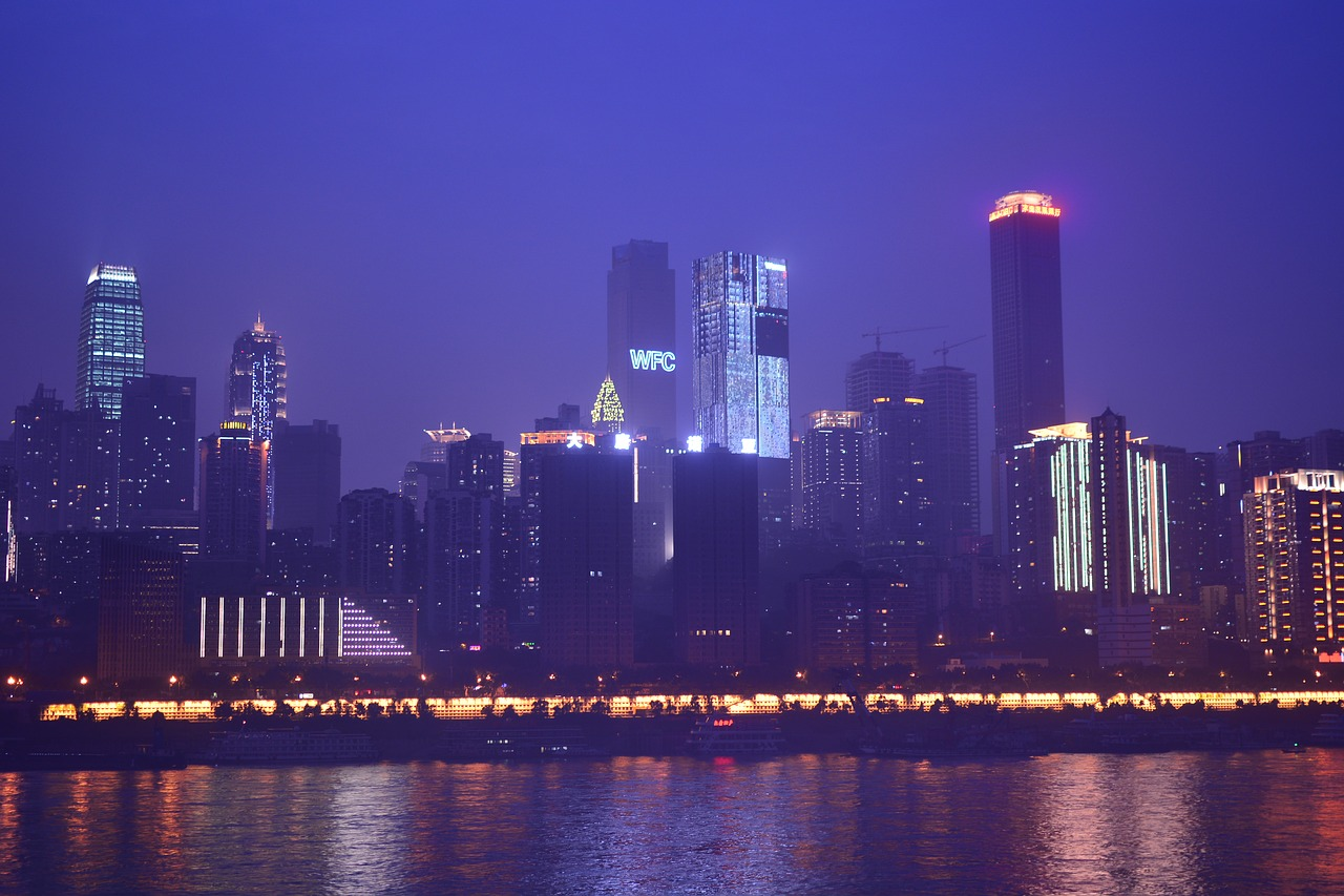 Chongqing, China, City, City Break, Metropole, The Largest City in the World, Skyline, Skyscrapers, Skyscrapers, Skyscrapers, City, City Breaks for Singles, City Breaks for Solo Travelers